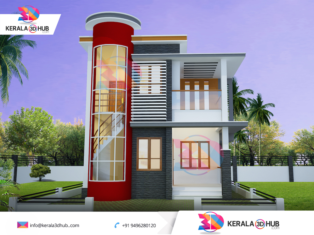 For Stunning Home 3d Home Elevations Design Contact