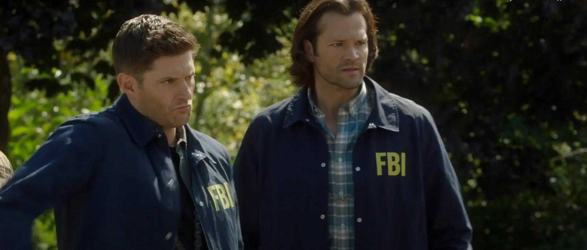 Кадр из сериала Сверхъестественное 15 сезон Дин и Сэм