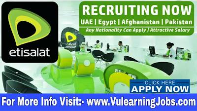 Etisalat Jobs 2019 For Latest Jobs In Middle East