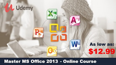 MS Office 2013: 10-in-1 Courses To Maximize Productivity Comprehensive, all-in-one training to get the most out of Microsoft Office 2013. 10-in-1 courses with 80 hours of video.