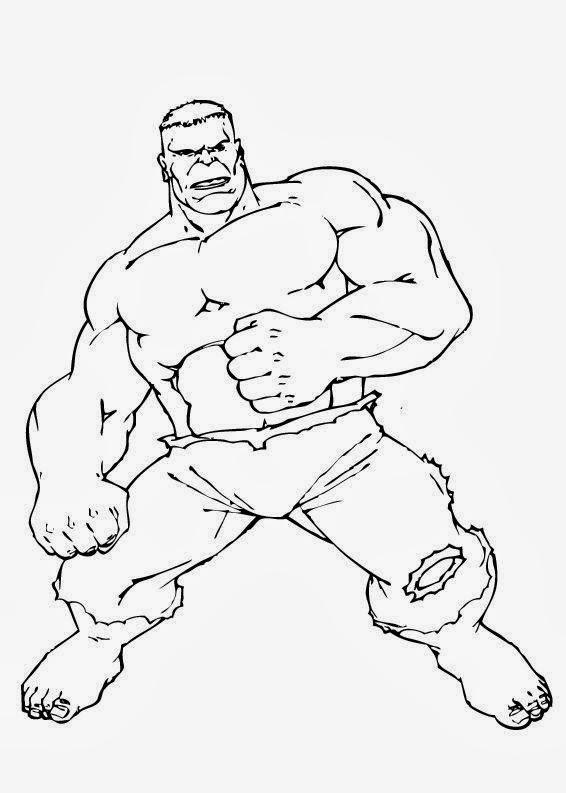 O Incrivel Hulk Desenhos Para Colorir E Imprimir Desenhos