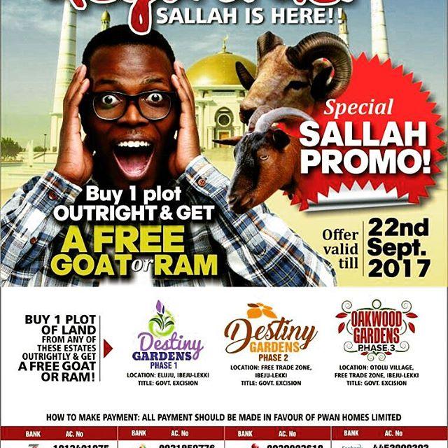 Promo Promo Promo - Sallah Is Here