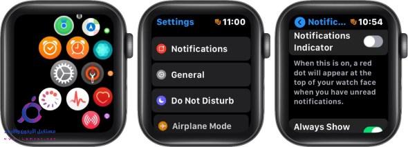 اسباب ظهور العلامة الحمراء في ساعة Apple Watch