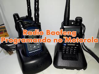 Rádios Baofeng UV5R