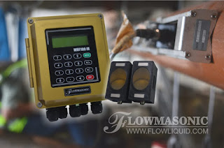 WUF 100 CF Flowmasonic Clamp On Water Flow Meter