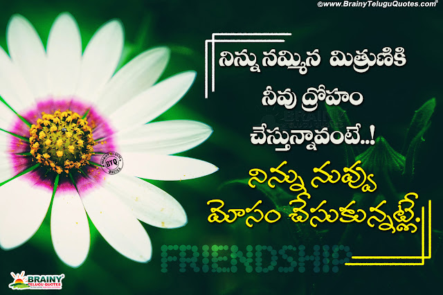 telugu best words in friendship, telugu sneham kavithalu, online telugu friendship quotes