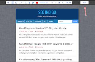 Mengambil Screenshot Website Satu Halaman Penuh
