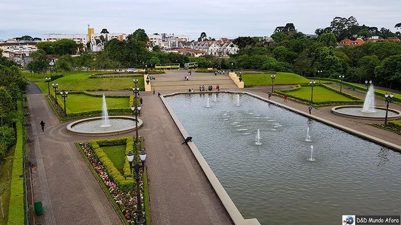 Parque Tanguá - parada do tour no ônibus da Linha Turismo de Curitiba - Encontro da RBBV