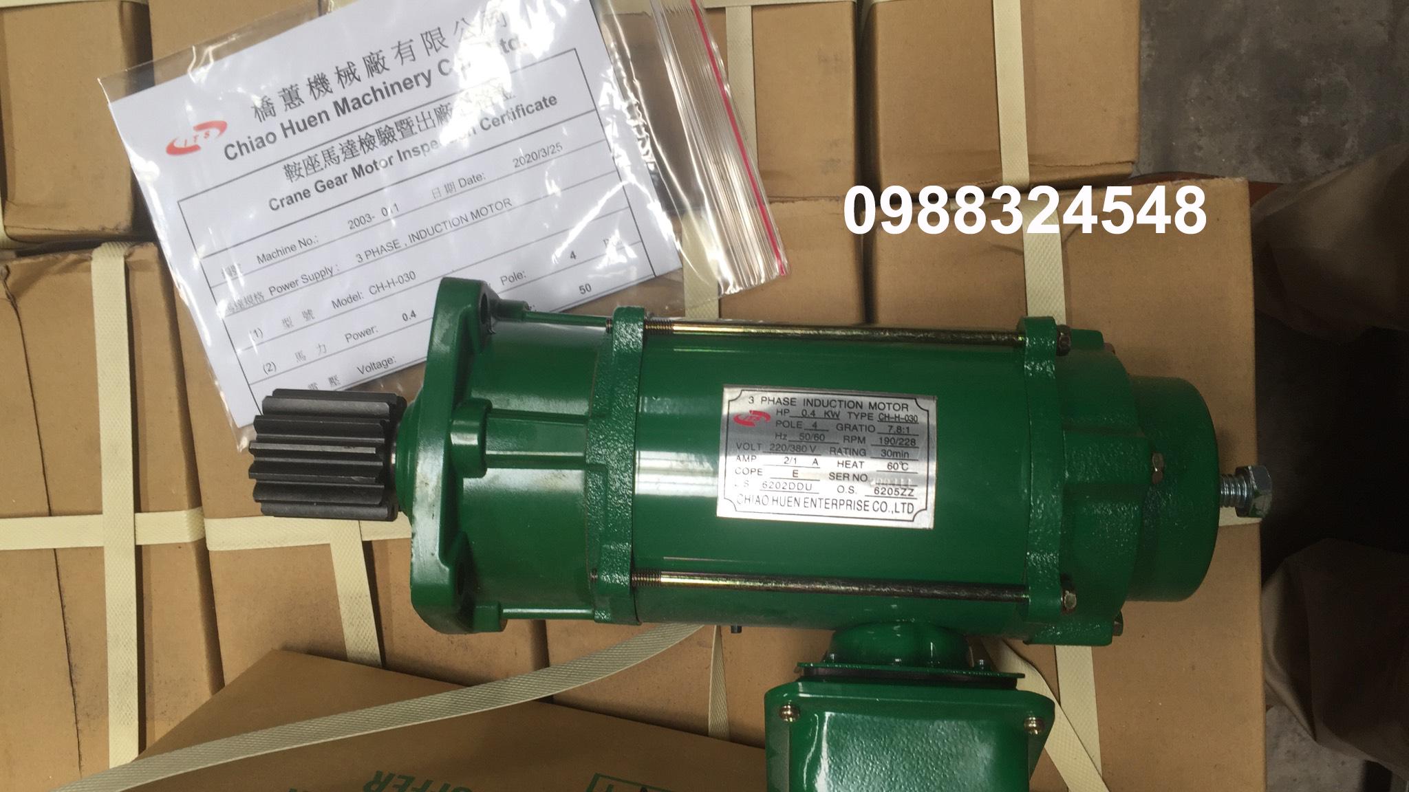 Motor dầm biên ITS CH-H-030 0.4Kw x 4P