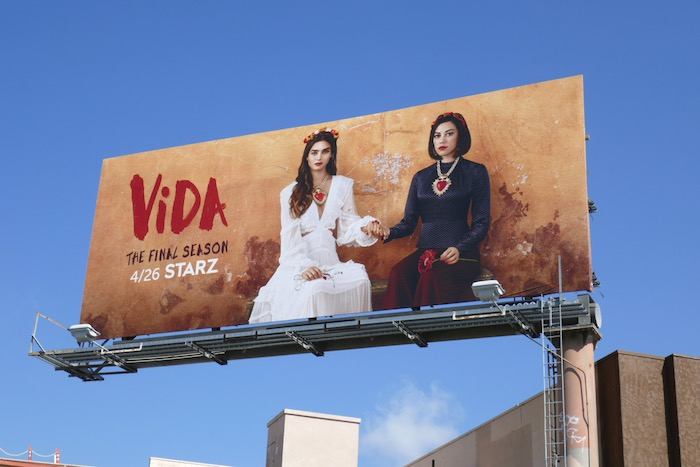 Vida final season 3 billboard
