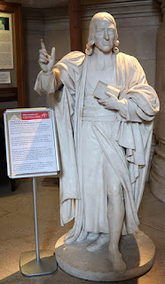 John Wesley in der Methodist Central Hall