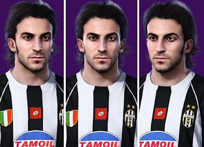 PES 2021 Faces Del Piero by Alireza