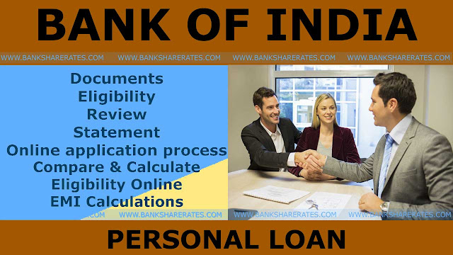 how to take personal loan from bank of india