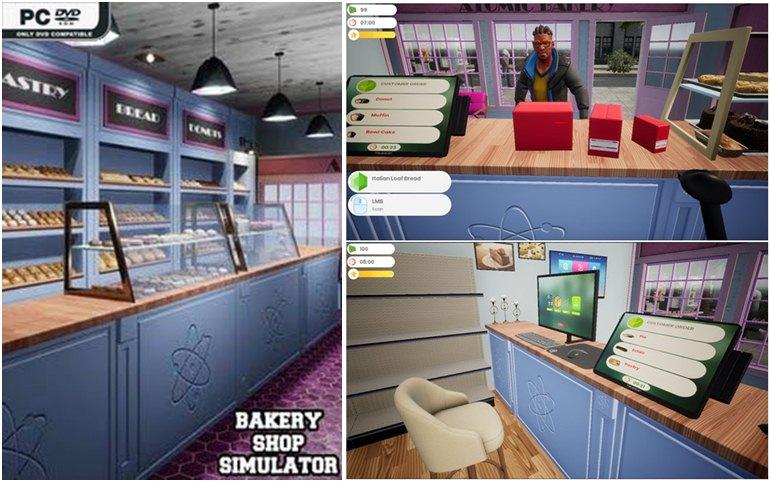تحميل لعبة  Bakery Shop Simulator