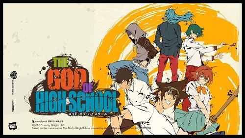 The God of High School Anime Series 2020