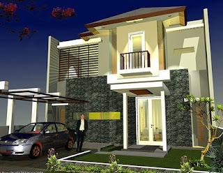 Model Rumah Minimalis Modern  Terpopuler Terbaru