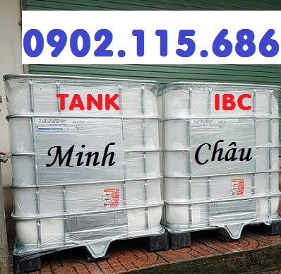 Tank IBC, tank đựng nước công trình, tank nuôi cá, tank đựng hóa chất, tank đựng dầu, tank nước 1000