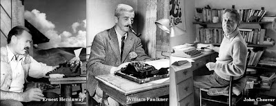 hemingway-and-faulkner-and-cheever