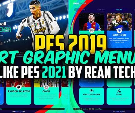 PES 2019 RT Graphic Menu Like PES 2021