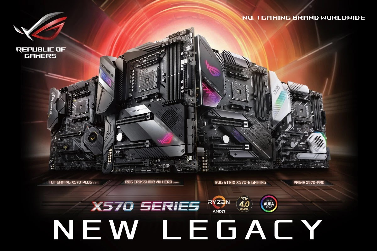 ASUS Local Pricing for AMD X570 Series Motherboards
