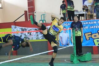 Singa Jepara Juara Putaran Kedua Liga Sepaktakraw Batik Al Syaffa