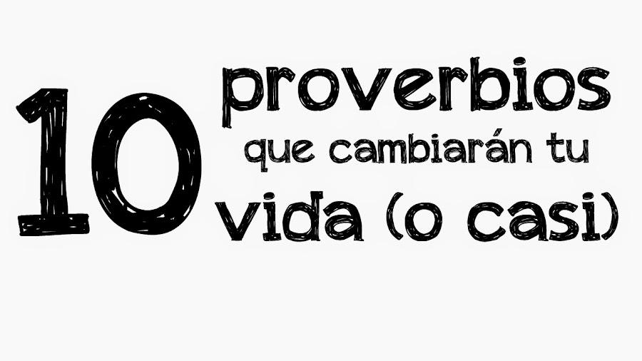 proverbios para cambiar la vida