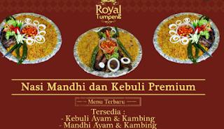 Pesan Nasi Kebuli yang Gurih dan Lezat di Royal Tumpeng