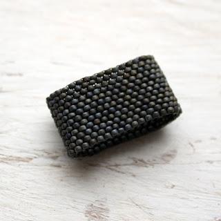 широкие кольца для женщин купить в интернет магазине изделий из бисера