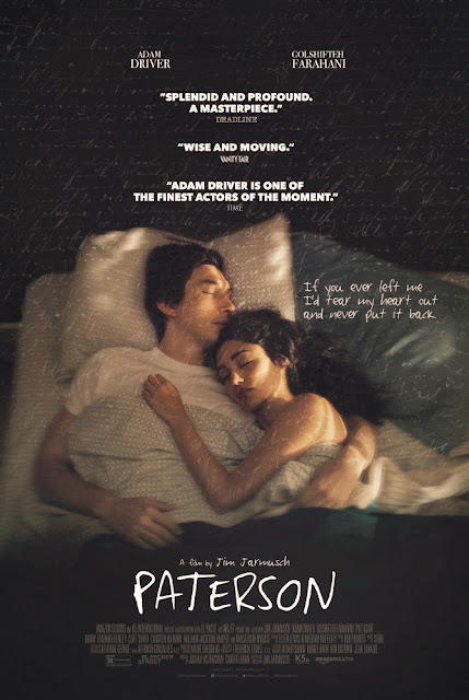Paterson (2016) Movie Sinopsis - Adam Driver, Golshifteh Farahani