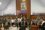 Kapolri Didampingi Gubernur Pantau Kegiatan Paskah di Sulut