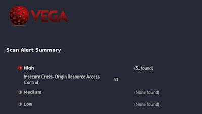 vega scan result