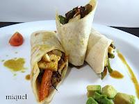 Rollitos de pollo y verduras