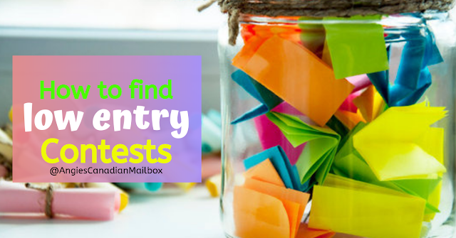 How to find low entry contests