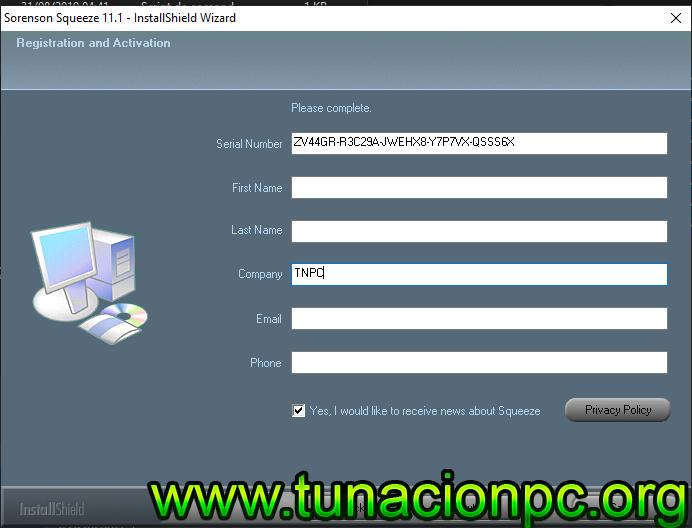 Sorenson Squeeze Pro Gratis con Licencias