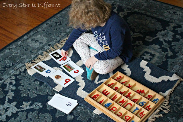 How to Use the Movable Alphabet with the Montessori Letters and Sounds Bundle