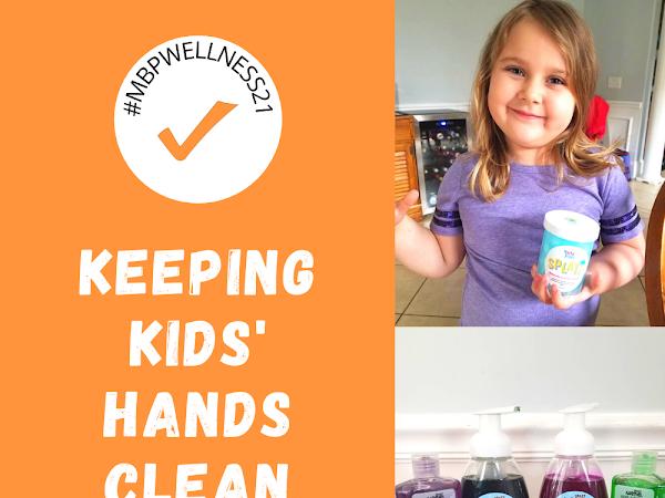 Keeping Kids' Hands Clean Has Never Been More Fun! #MBPWELLNESS21