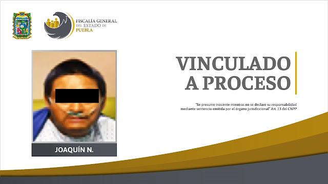 Vinculado a proceso implicado en el homicidio de un policía de Huejotzingo