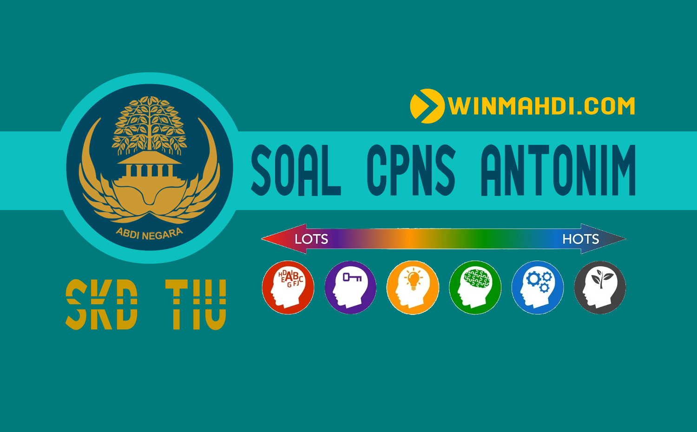 Soal CPNS Antonim