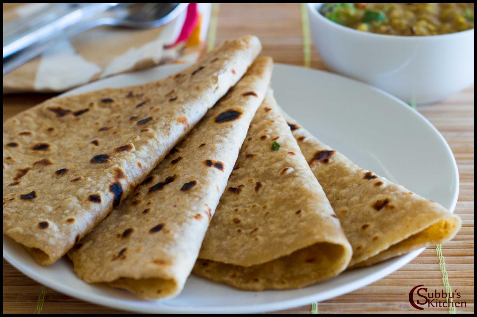 Chapati Recipe — Dishmaps