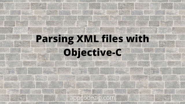 How can I parse an XML file in Objective C