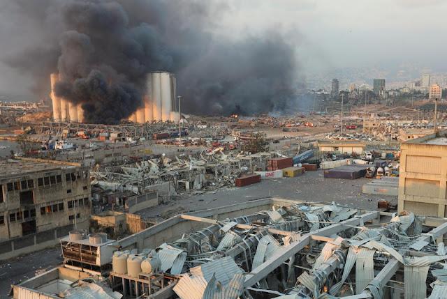 В результате мощнейшего взрыва в Ливане пострадала половина столицы! Фото и Видео!