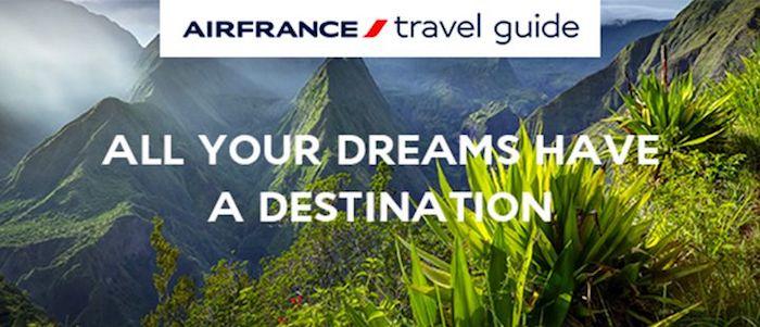 Air France, Air france przewodnik, przewodnik Air France Travel Guide, Air France aplikacja