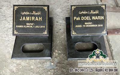 Harga Nisan Kuburan, Jual Nisan Kotak Granit, Model Batu Nisan Islam