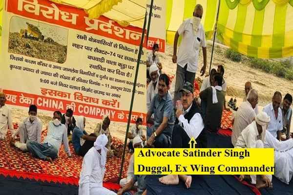 advocate-satyendra-singh-duggal-ex-wing-commandaer-faridabad-news