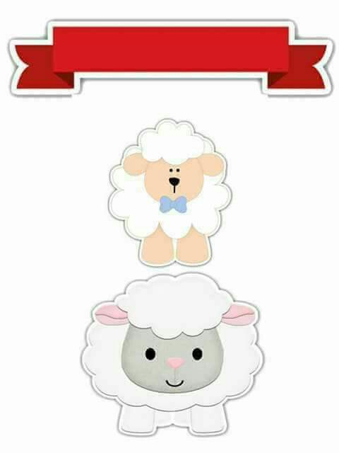 Little Sheeps: Free Printable Toppers.