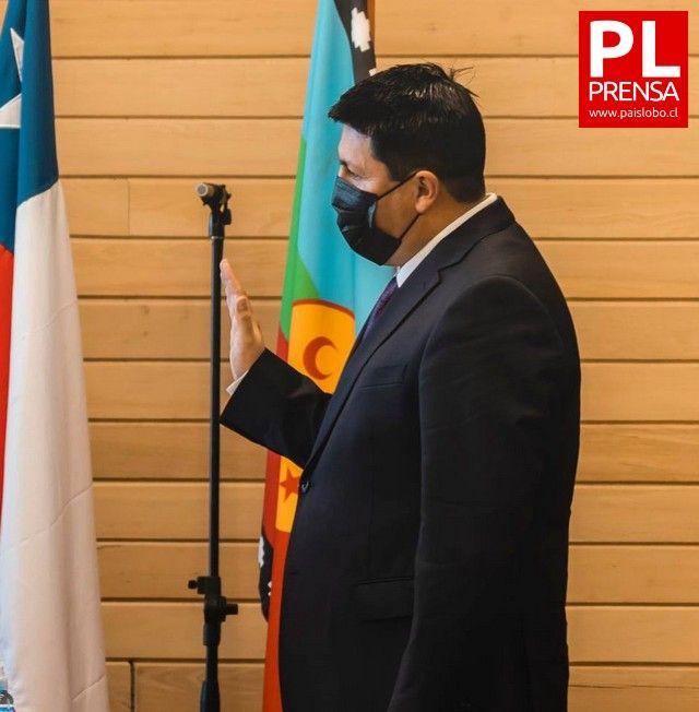 Juramento Alcalde Víctor Angulo