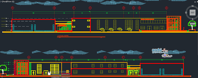 Barco library Dwg