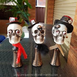 Easy Halloween Costume Ideas Skull Decor