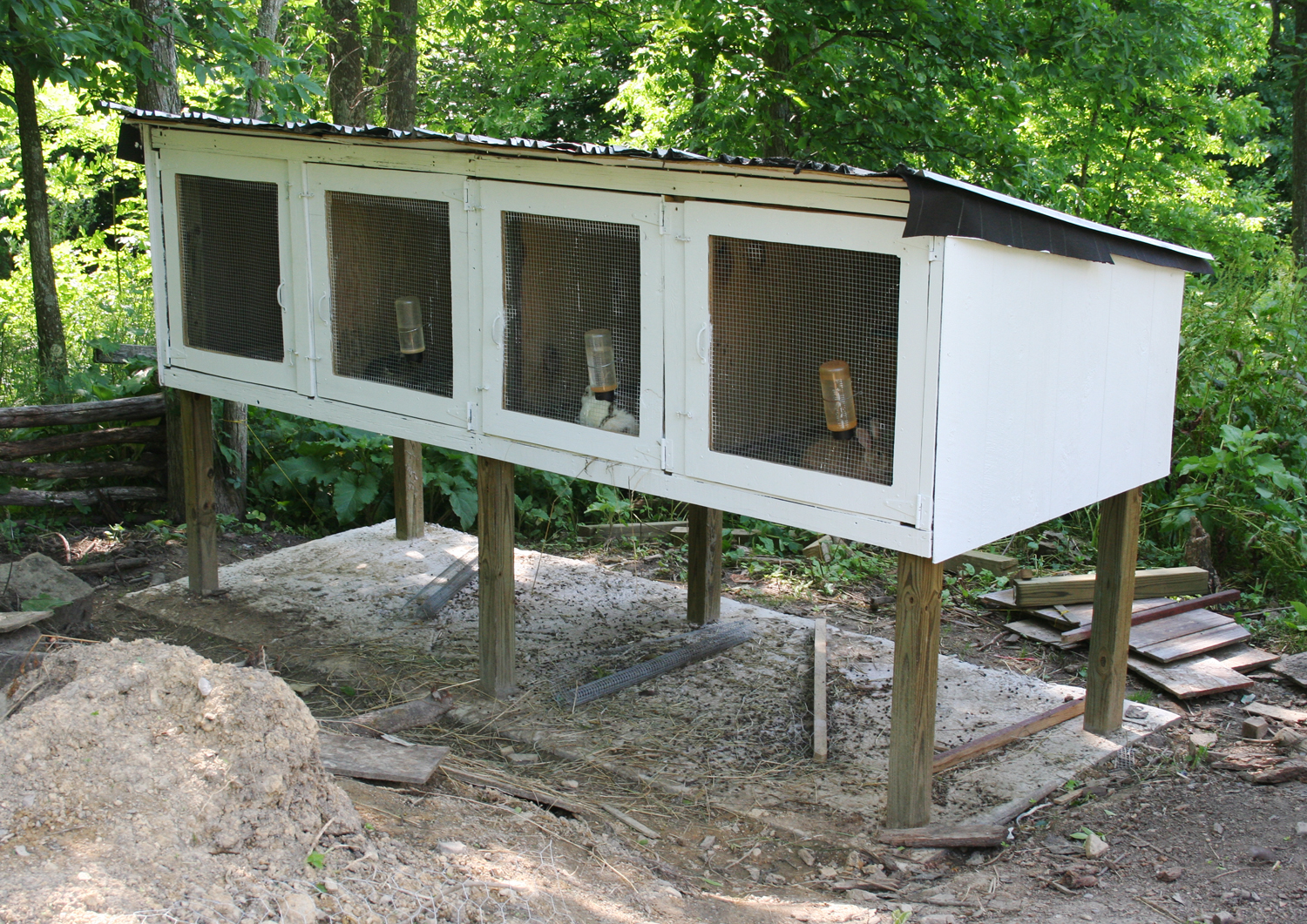 Rabbit+Hutches+Done! Rabbit House Plans To Build on build dog house, build bat house, build a house cat, build tree house, build owl house, build a raccoon house, build fish house, build a bird house, build chicken house, build squirrel house, build a tortoise house, build a goat house,