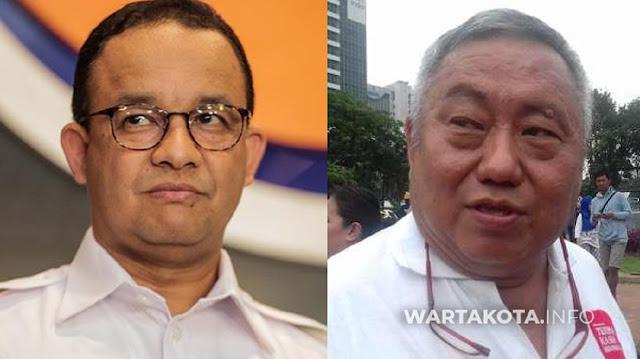 Lieus Sungkharisma Sebut Banjir DK1 Jakarta Cara Tuhan Menguji Anies Jadi Presiden